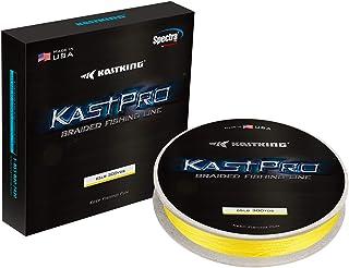 KastKing KastPro Braided Fishing Line - Spectra Super Line - Made in The USA - Zero Stretch Braid - Thin Diameter - On Bio...