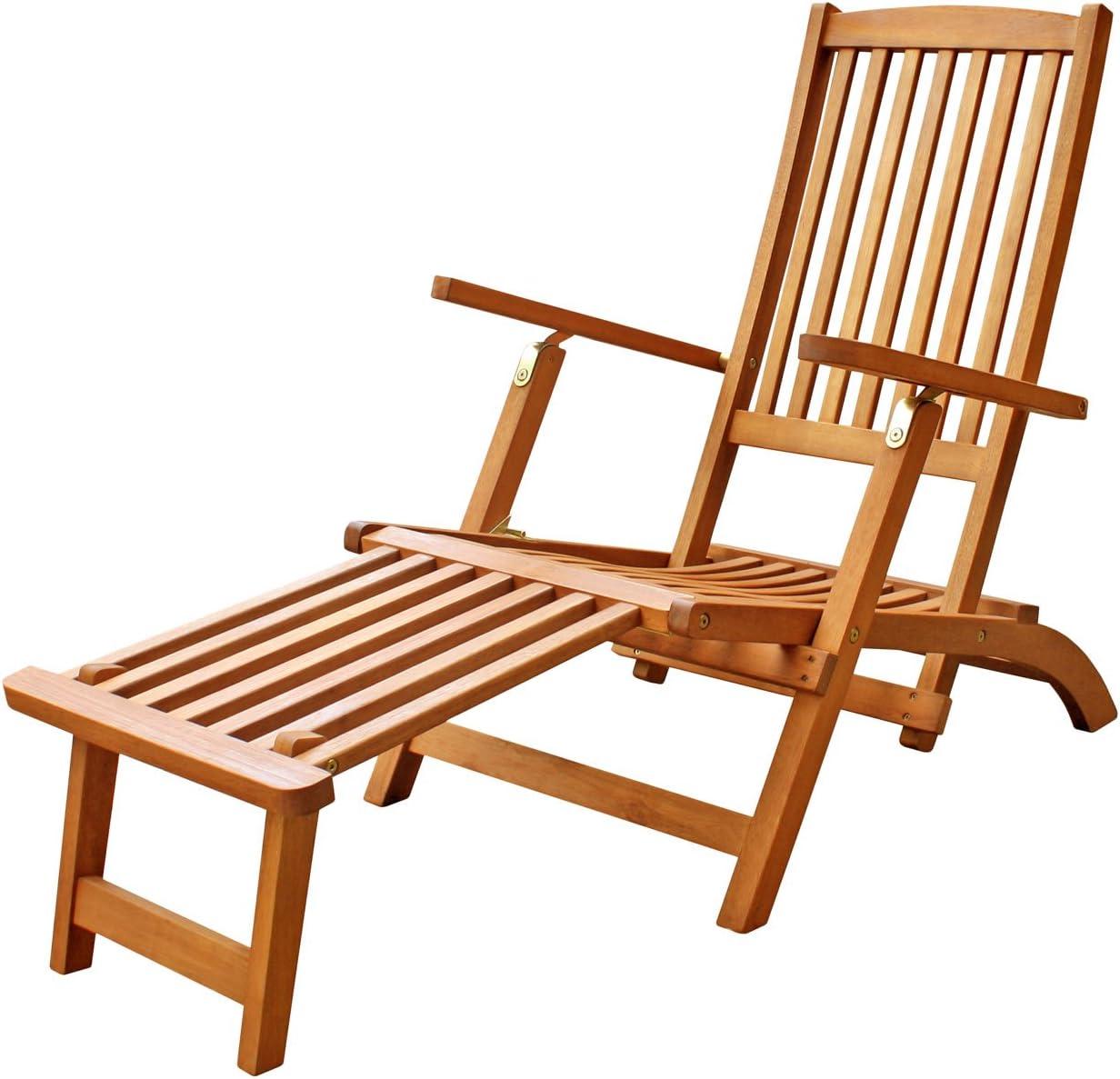 LuuNguyen Tommy Outdoor Hardwood Folding Ch Steamer Deck Time Be super welcome sale Lounge