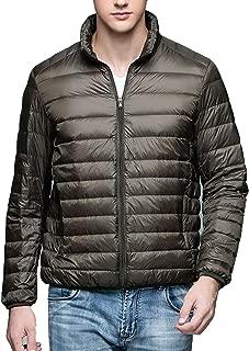 pleasantlyday Winter Man Duck Down Jacket Light Thin Spring Jackets Stand Collar Outerwear Coat