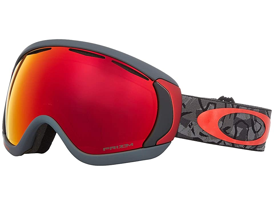 Oakley Canopy (Camo Vine Night w/ Prizm Torch Iridium) Snow Goggles