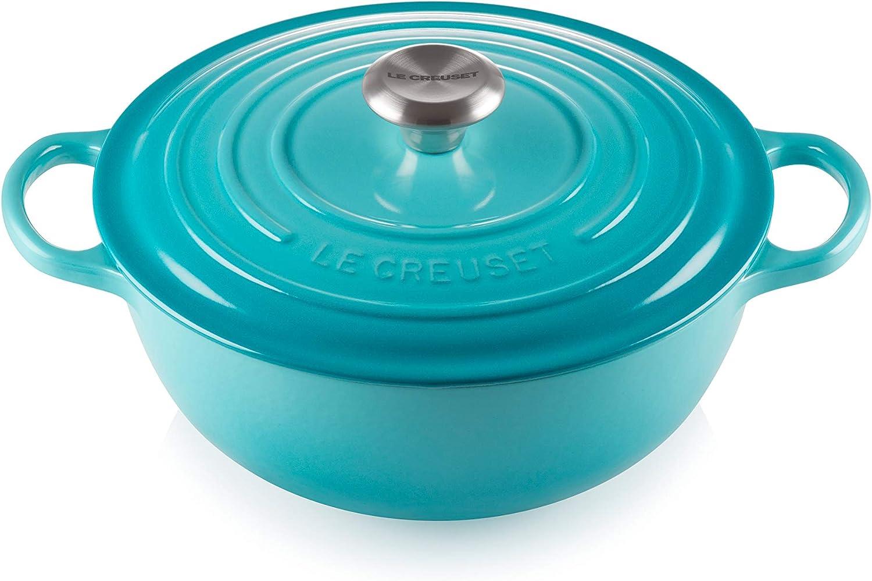 (人気激安) Le Creuset Signature Cast Iron トレンド Marmite cm-Carri 26 Casserole La