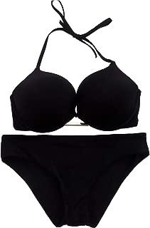 Victoria's Secret Bikini Swimsuit Bundle Set of 2. 1 Bombshell Bikini Top 36D and 1 The Classic Hipster Bikini Bottoms Large NWT Black