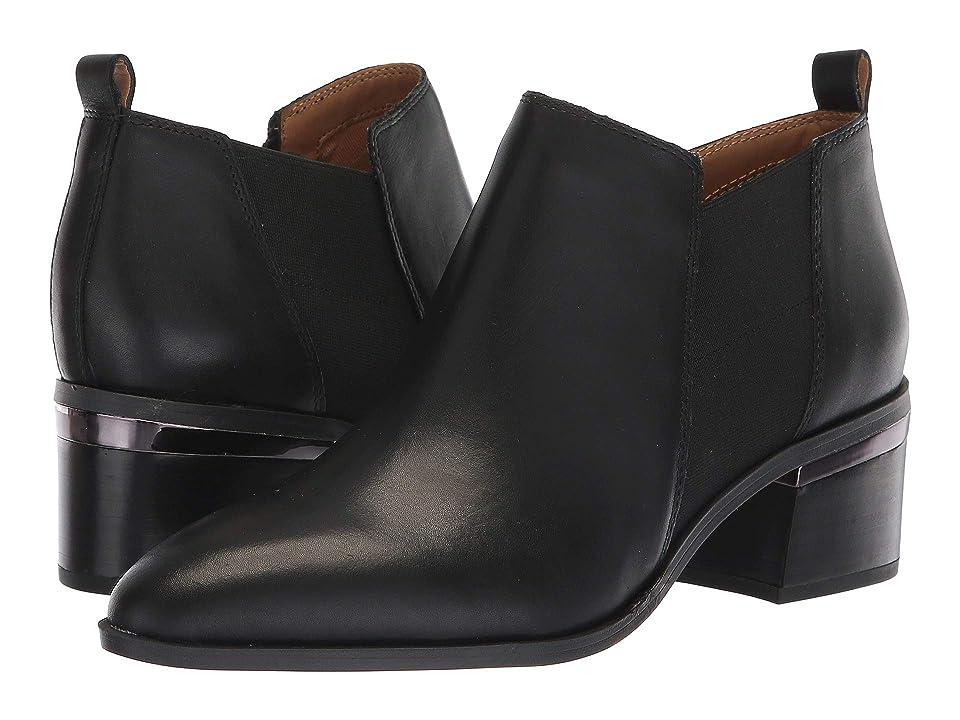 Franco Sarto Arden (Black Bally Leather) Women