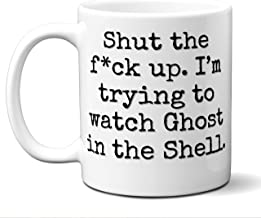 Ghost in the Shell Gift Mug. Funny Parody Movie Lover Fan