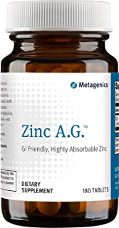 Metagenics Zinc A.G., 180 Count