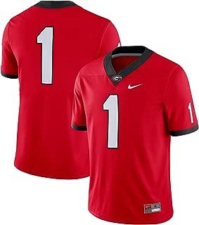 Nike NCAA Men's Georgia Bulldogs #1 Dri-FIT Game Jersey Red