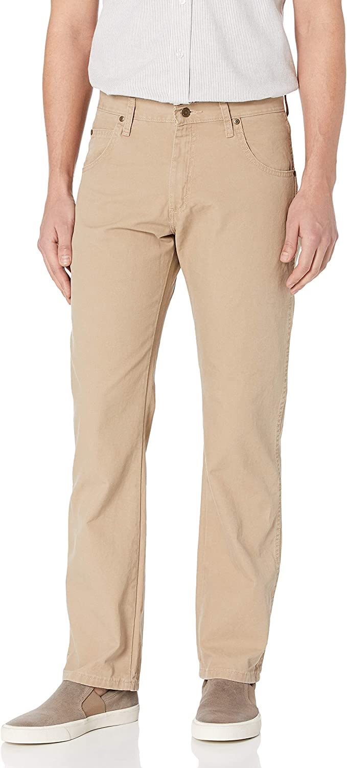Wrangler Men's Rugged Wear Relaxed Straight Spasm Max 61% OFF price Leg Fit Canvas Pant