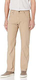 Wrangler Men's Rugged Wear Relaxed Fit Straight Leg Canvas Pant