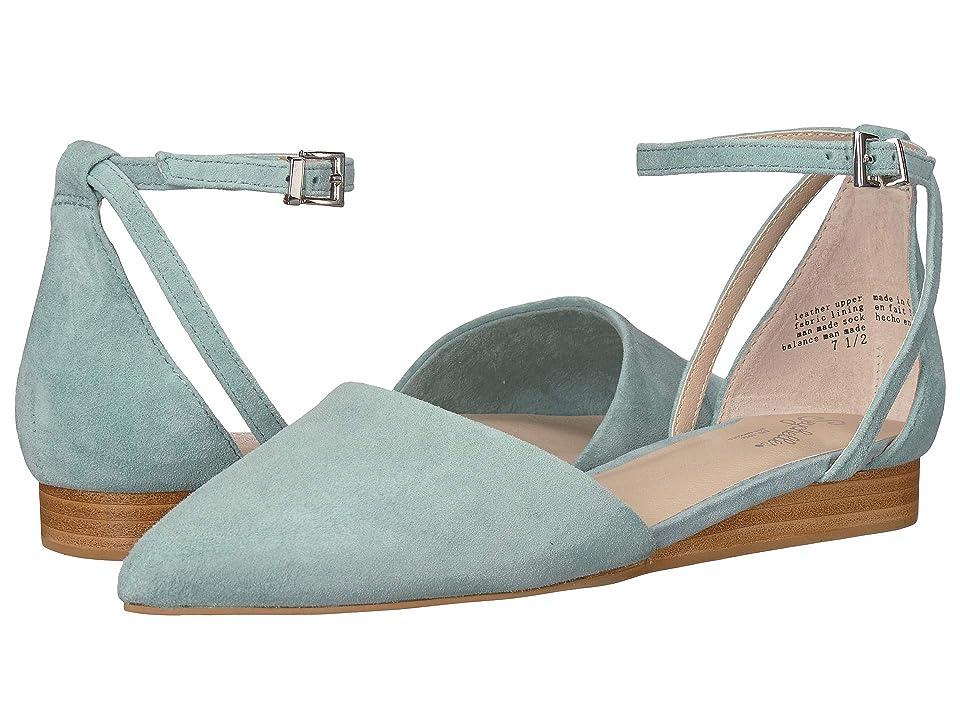 Seychelles Plateau (Sage Suede) Women's Slip on  Shoes