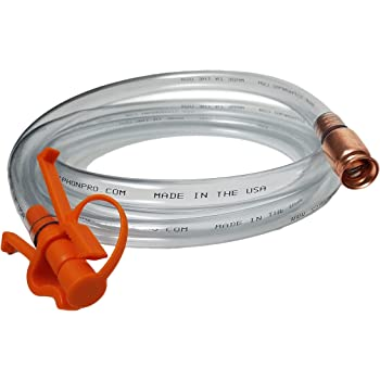Siphon Pro 8 Jiggler Hose Unique Patented Hose Clamp Allows One Hand Operation With no Concern That the Hose End Will Flop Out No Mess