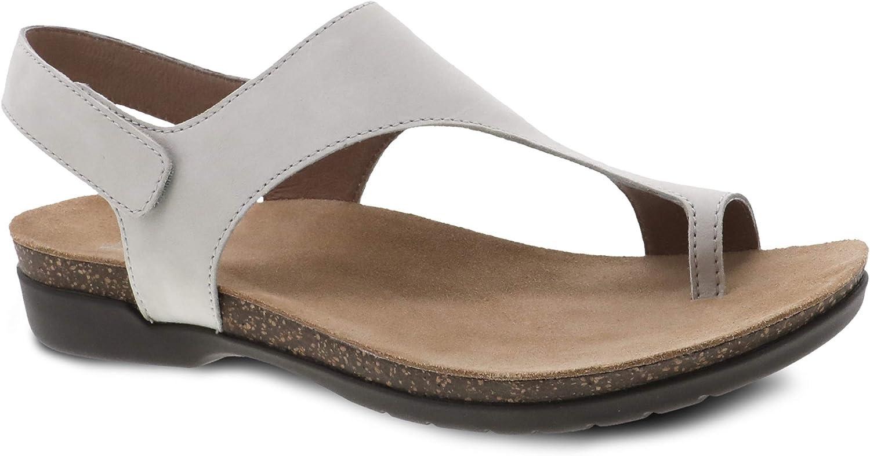 Dansko Women's Reece All items in the store Sandal Footbed Cork Opening large release sale - Memory