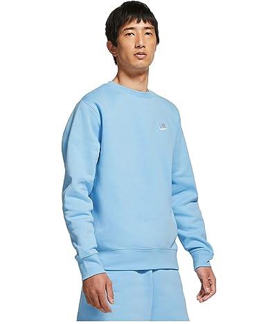 Nike NSW Club Crew (Psychic Blue/White) Men