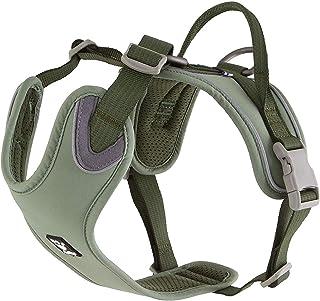 Hurtta Weekend Warrior ECO Dog Harness, Hedge, 39-47 in