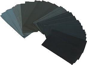 20 x 125 mm Schleifpapier 400er Korn für Exzenterschleifer Klett haft