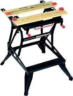 Black+Decker Flexibele werkbank (met groot werkblad, in hoogte verstelbaar en eenvoudig te hanteren, tot 160 kg belastbaa...