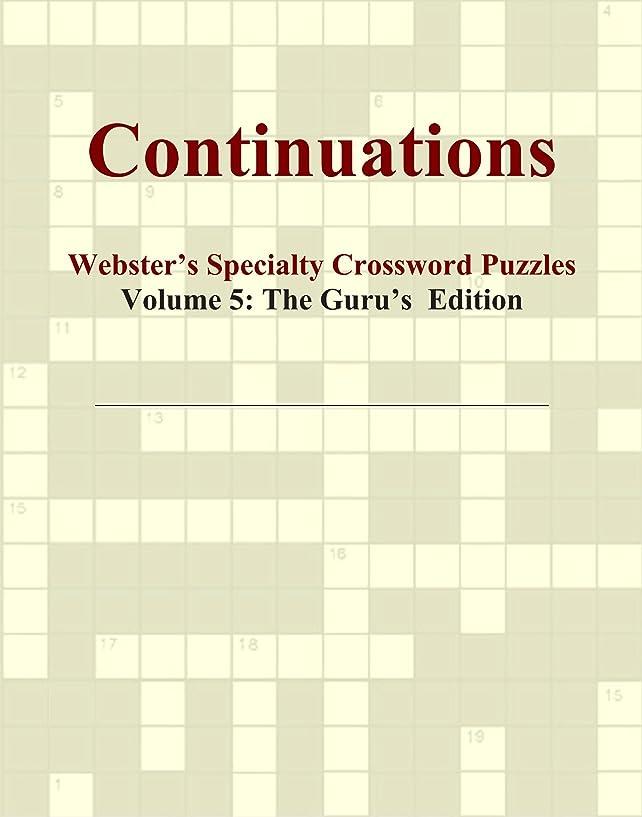 メジャー祝福海外Continuations - Webster's Specialty Crossword Puzzles, Volume 5: The Guru's Edition