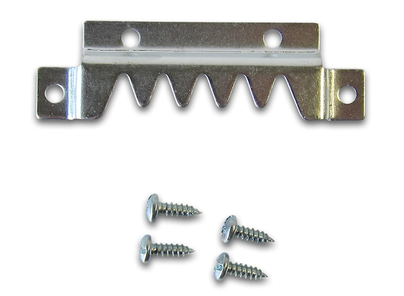 Super Heavy Duty Sawtooth Hanger with Screws | Pallet Hanger | Heavy Sawtooth Picture Hangers supports 250 lbs