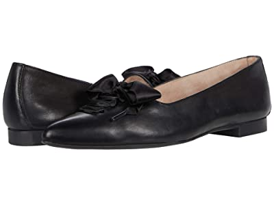 Paul Green Carina Flat (Black Soft Nappa) Women