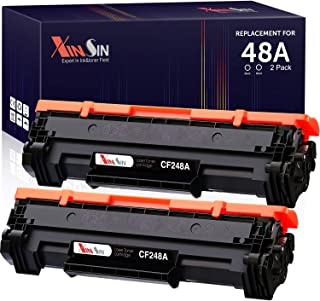XINSIN Compatible 48A CF248A Black Toner Cartridges Replacement for HP Laserjet Pro MFP M15w M28w M29w M30w M31w M15a M16a...