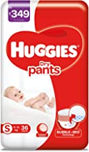 Huggies Dry Pants, Small Size Diapers (4 - 8 kg), 36 count