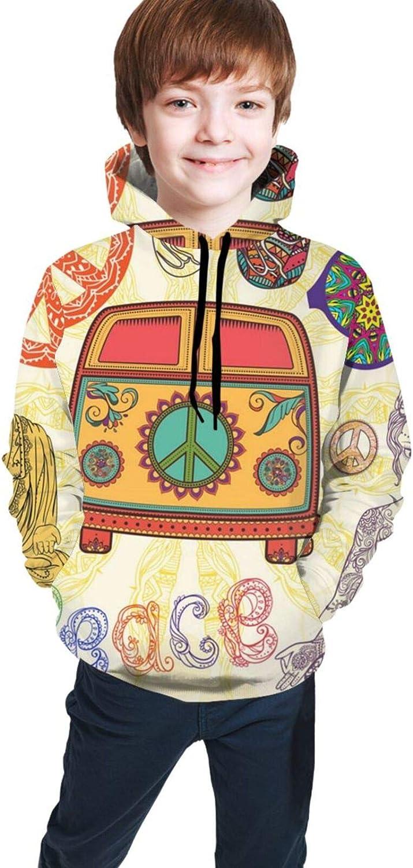 Space Stars Boys Girls Hoodies Kids Cool 3D Print Hooded Sweatshirts