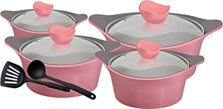 Royalford Ceramic Non Stick Cookware set 10 Pcs, RF9271