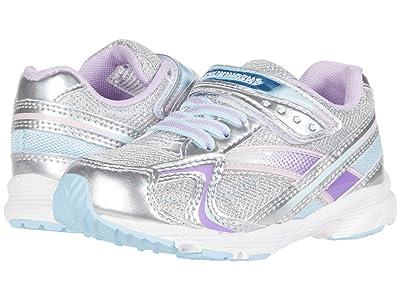 Tsukihoshi Kids Glitz (Toddler/Little Kid) (Silver/Lavender) Girls Shoes