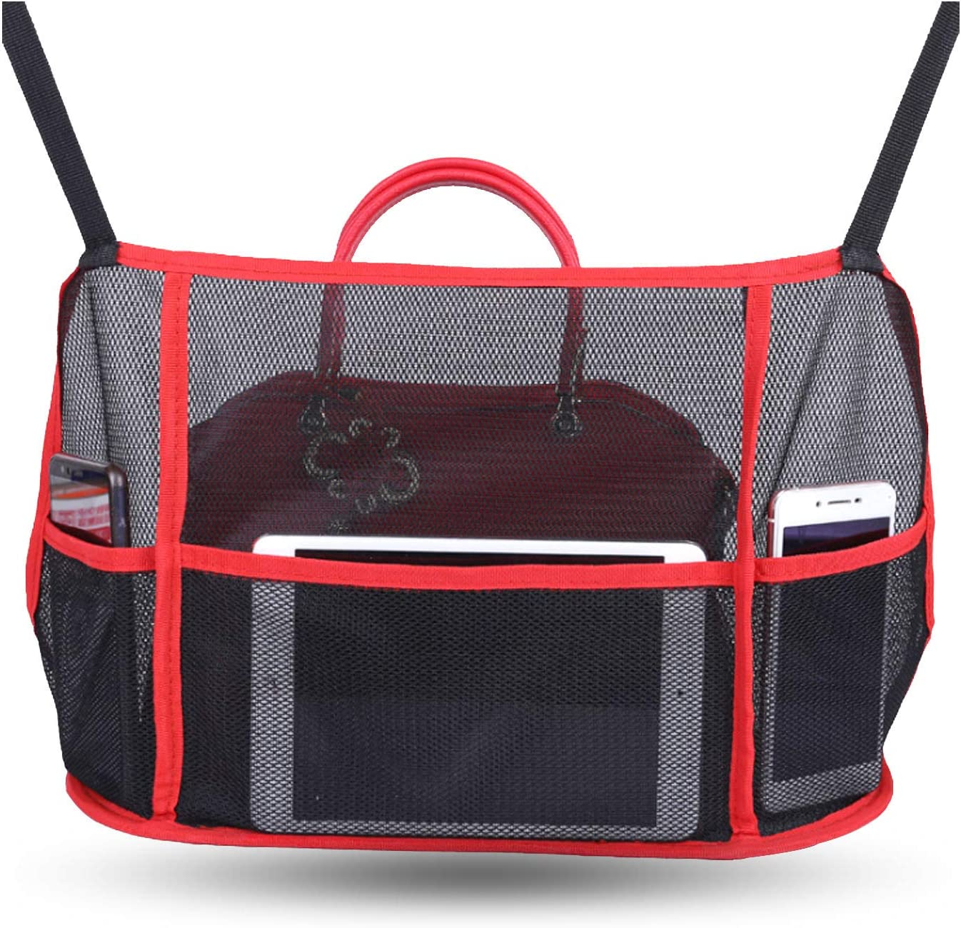 Car Net Pocket Handbag Holder Special price for Award a limited time Seats Between Purse C