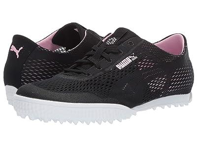 PUMA Golf Monolite Cat Woven (Black/Pale Pink) Women