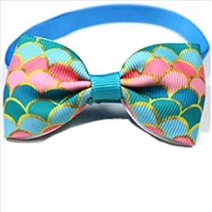 Pet Bow Ties in Various Designs, Cats and Dogs Collar Pet Bow Tie