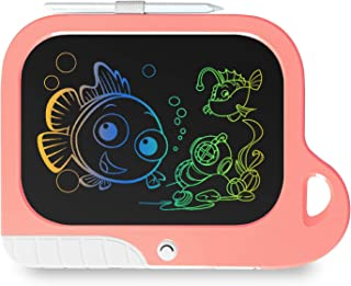 TEKFUN Girls Toys Toddler Gifts Toys for 3-7 Year Old Girls, 8.5 Inch Color LCD Writing Tablet Erasable Doodle Board, Cute...