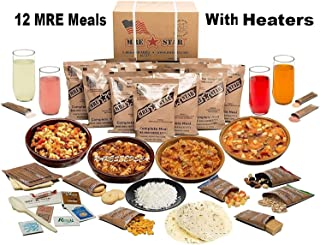 MRE Star MRE Kits Case 12 Pk