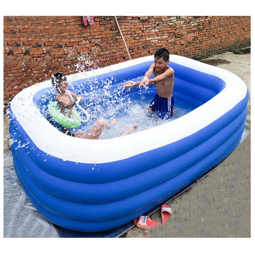 YIRUN Piscina Inflable Plegable Piscina Familiar Rectangular ...