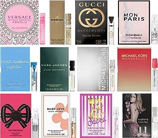 Women's Perfume Sampler Lot x 12 Sample Vials - High End Desginer Fragrance Samples (Set 1a)