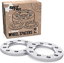 StanceMagic - 1/2 inch (12mm) - 5x4.5 and 5x4.75 Flat Wheel Spacers - Compatible with Many Buick Cadillac Chevy Chevrolet (See Description for Specific Year Makes Models)
