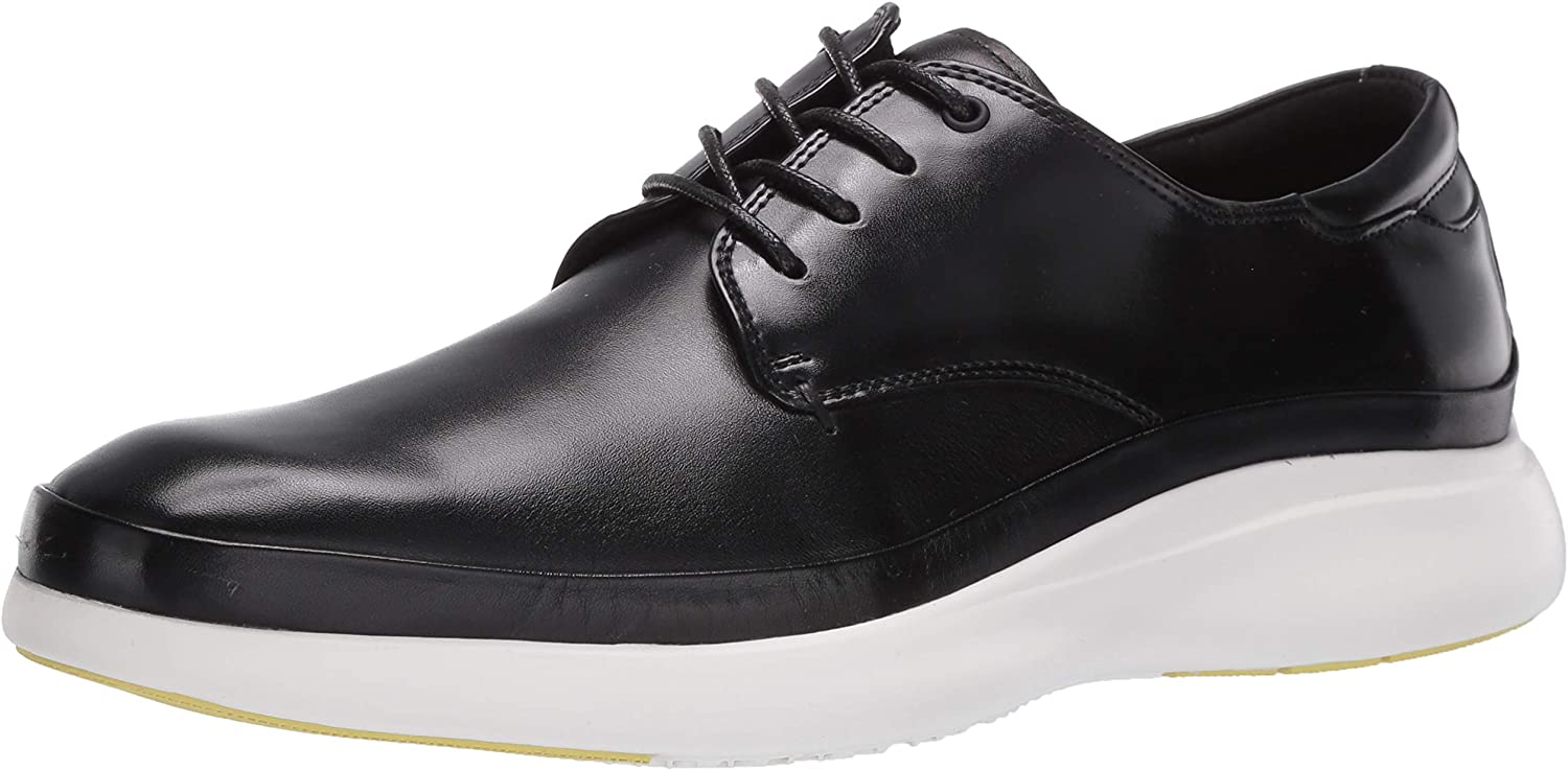 Kenneth Cole New York Men's Mello Lace Up Oxford, Black, 8