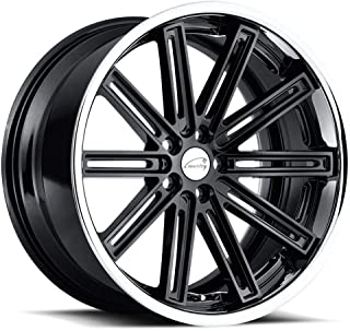 Coventry WARWICK Black Wheel with Painted Finish (21 x 9. inches /5 x 108 mm, 35 mm Offset)