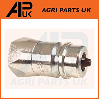 APUK Hydraulic Quick Release Coupling 1//2 BSP female Tractor Loader Implement