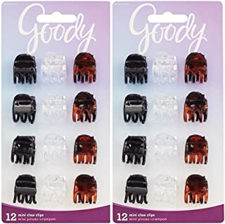 Goody Claw Clip, Small, 24 Count