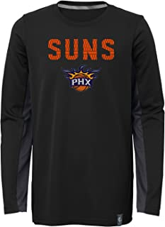 Outerstuff Boys NBA Kids & Youth Boys Assist Long Sleeve Shooter Tee 9K2BBBBAD-P