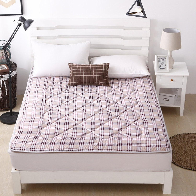 Summer Bed Mat,Thicken Collapsible Tatami Mattress-F 180x200cm(71x79inch)