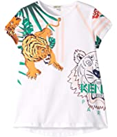 Kenzo Kids - Summer Printed Tee (Big Kids)