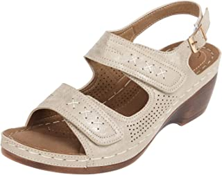 Catwalk Women's Double Strap Sandals