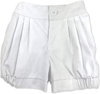 Allegra and Harvey Lucy Bloomer Shorts White (Shorts only)
