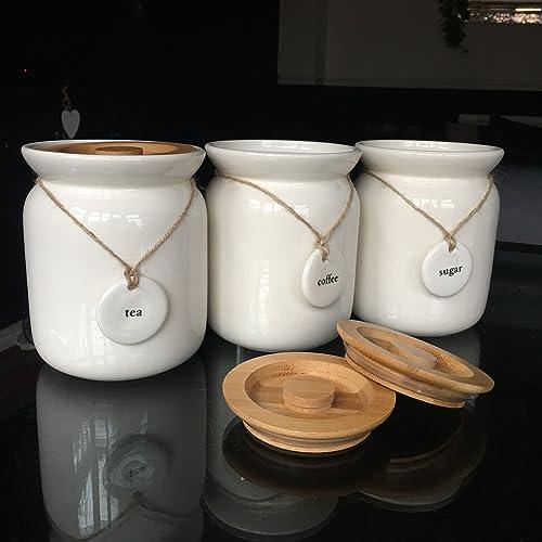 Kitchen Canisters Ceramic Amazon Co Uk