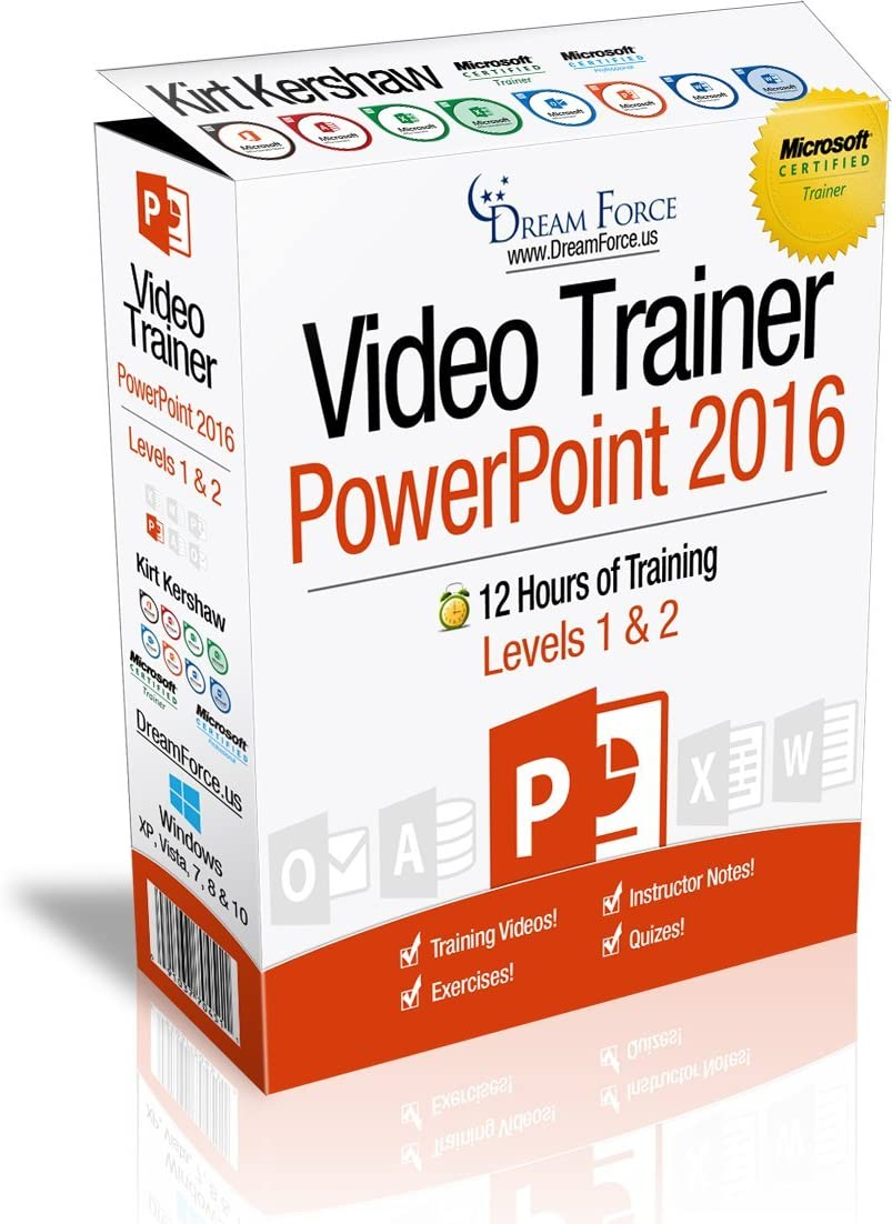 PowerPoint 2016 Training Videos – of 12 New Max 63% OFF sales tr Hours