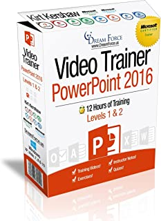 PowerPoint 2016 Training Videos – 12 Hours of PowerPoint 2016 training by Microsoft Office: Specialist, Expert and Master Instructor, and Microsoft Certified Trainer (MCT), Kirt Kershaw