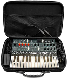 Analog Cases PULSE Case for Arturia MiniLab/MicroFreak/MicroBrute or comparable midi controllers (transport case made of d...