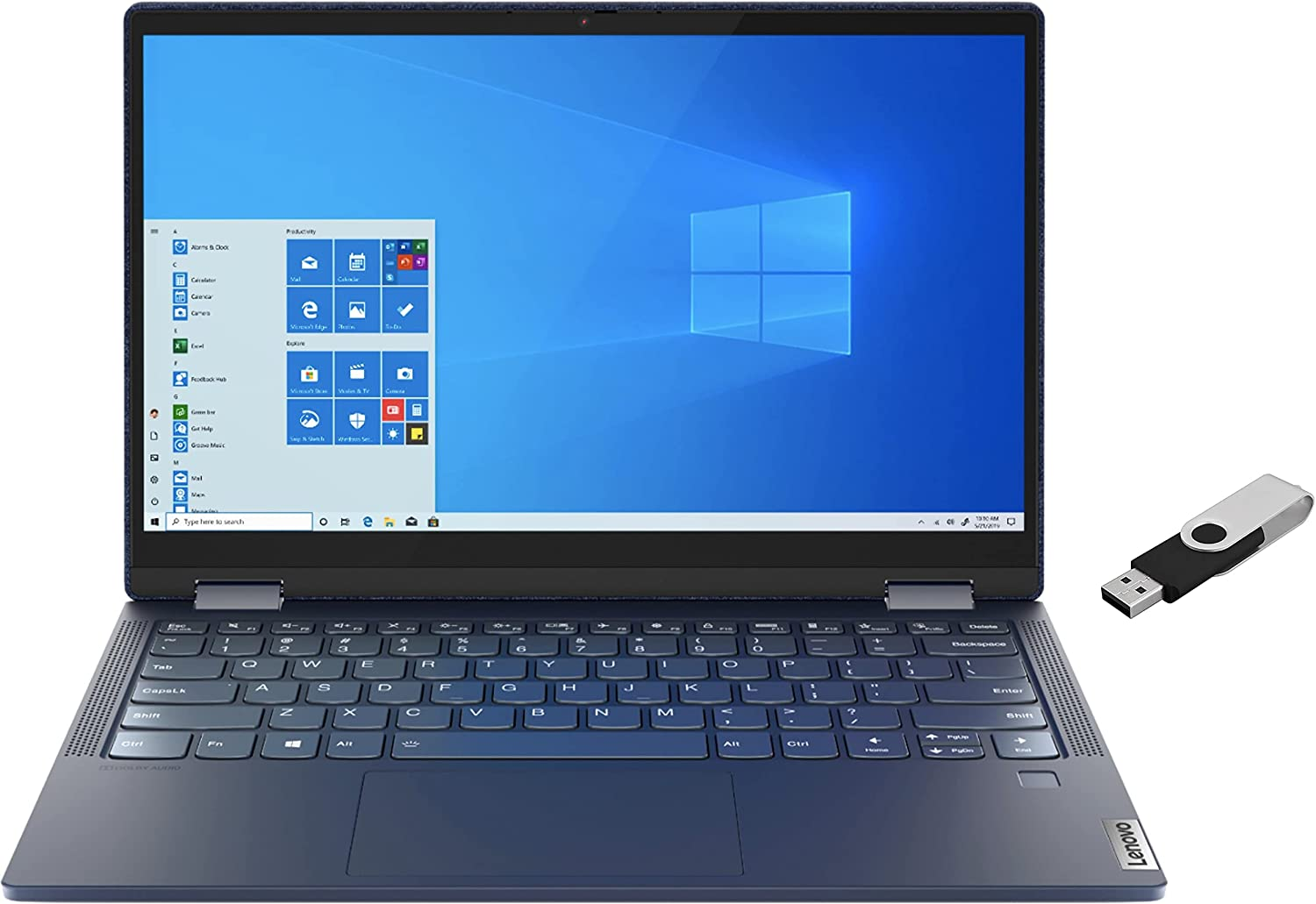 2021 LENOVO New mail order Yoga 6 2-in-1 Laptop R FHD AMD 13.3 inch Arlington Mall Touchscreen