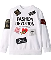 Dolce & Gabbana Kids - Fashion Devotion Sweatshirt (Little Kids)
